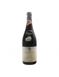 BAROLO RISERVA CREMOSINA 1967 BERSANO Grandi Bottiglie