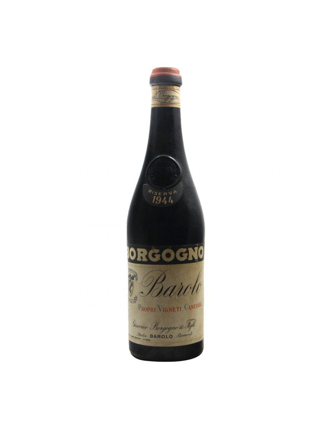 BAROLO RISERVA 1944 BORGOGNO GIACOMO Grandi Bottiglie