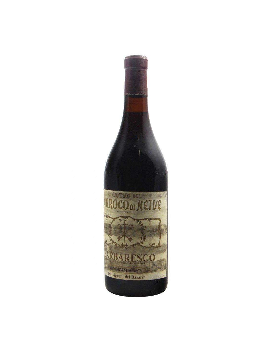 BARBARESCO VIGNETO DEL BASARIN 1973 CANTINA DEL PARROCO DI NEIVE Grandi Bottiglie