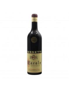 BAROLO 1955 COSSETTI CLEMENTE Grandi Bottiglie