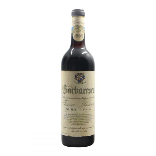 BARBARESCO 1969 FIORINA FRANCO Grandi Bottiglie