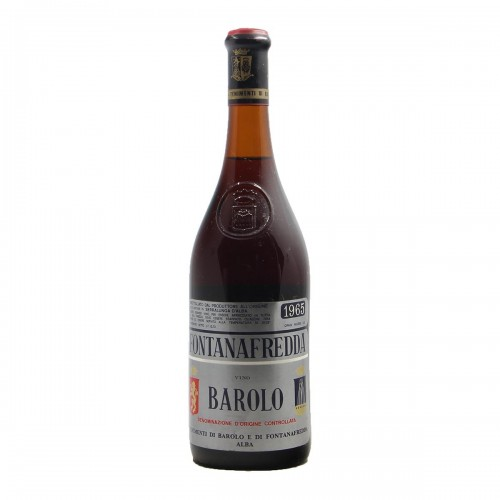 BAROLO 1965 FONTANAFREDDA Grandi Bottiglie