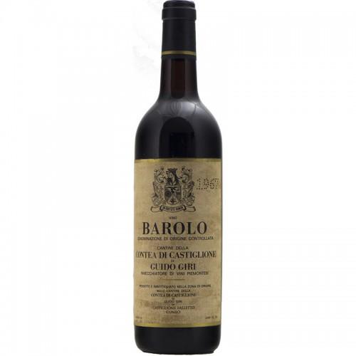 Barolo 1967 GUIDO GIRI GRANDI BOTTIGLIE