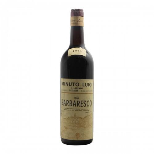 Barbaresco 1970 MINUTO GRANDI BOTTIGLIE