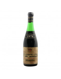 GRIGNOLINO 1974 CAPETTA Grandi Bottiglie