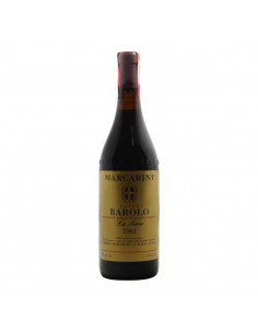 BAROLO LA SERRA 1984 MARCARINI Grandi Bottiglie
