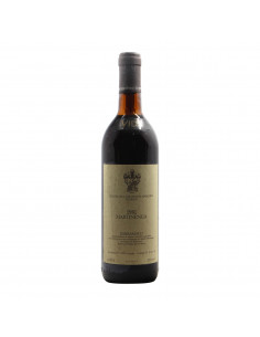BARBARESCO MARTINENGA 1981 MARCHESI DI GRESY GRANDI BOTTIGLIE