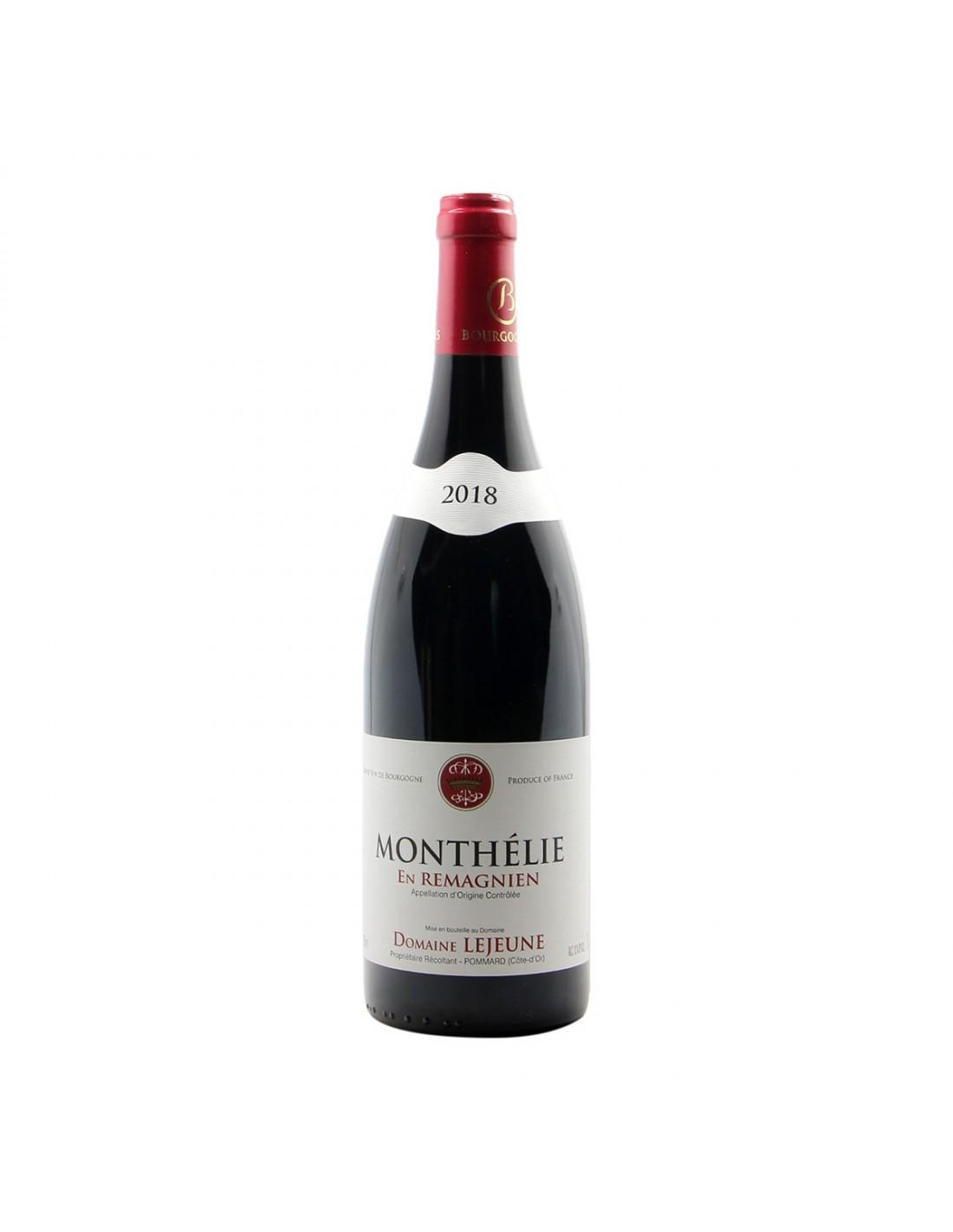 Domaine Lejeune Monthelie En Remagnien 2018 Grandi Bottiglie