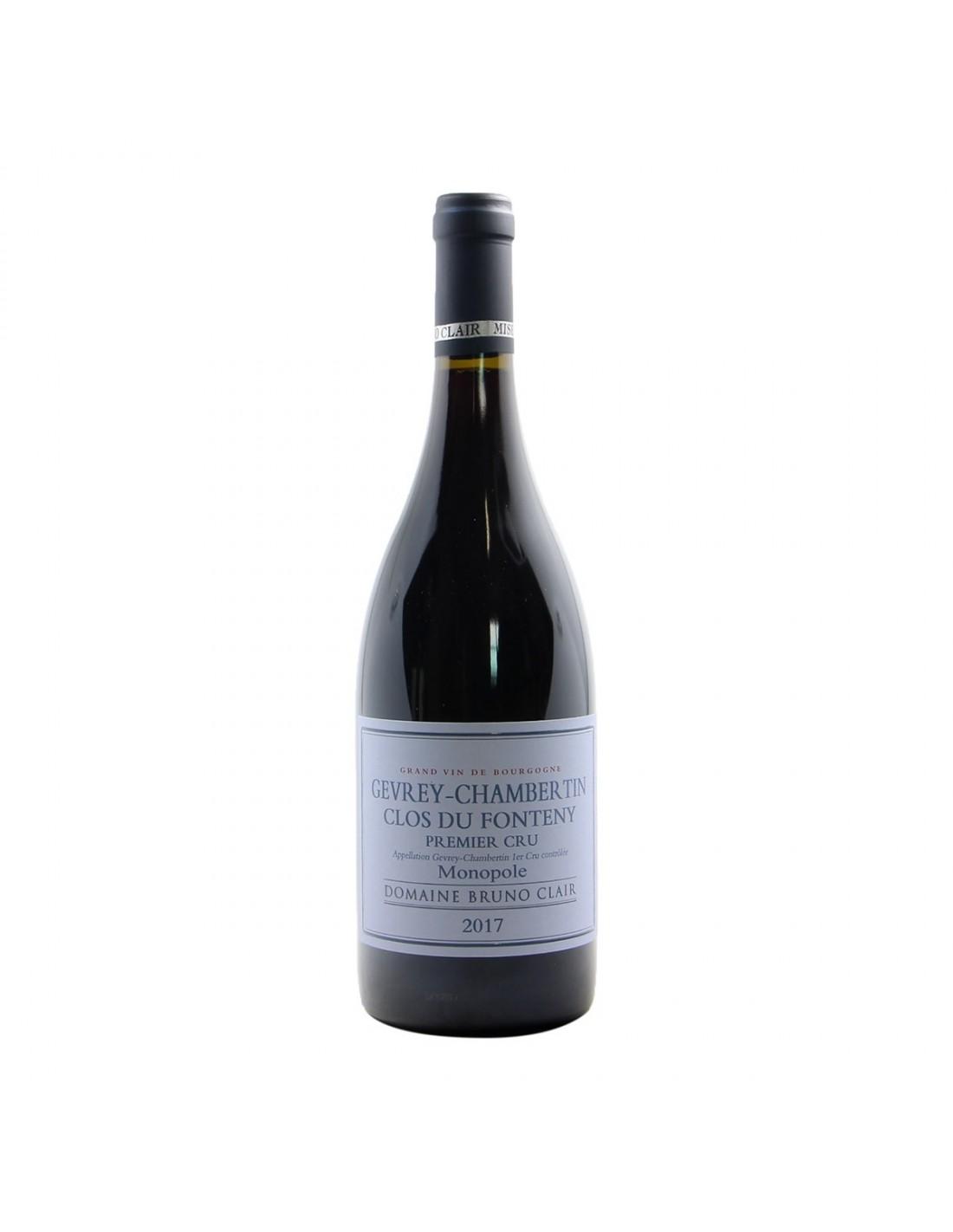 Bruno Clair Gevrey Chambertin 1er Cru Clos du Fonteny Monopole 2017 Grandi Bottiglie