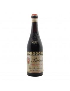BAROLO RISERVA CLEAR COLOUR 1958 BORGOGNO GIACOMO Grandi Bottiglie