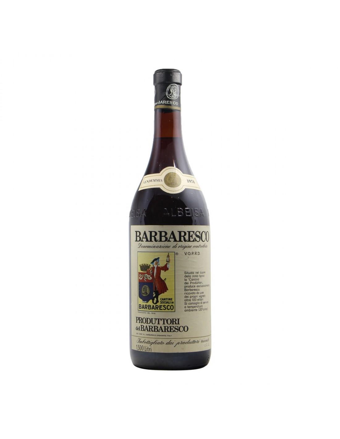 BARBARESCO CLEAR COLOUR MAGNUM 1978 PRODUTTORI DEL BARBARESCO Grandi Bottiglie
