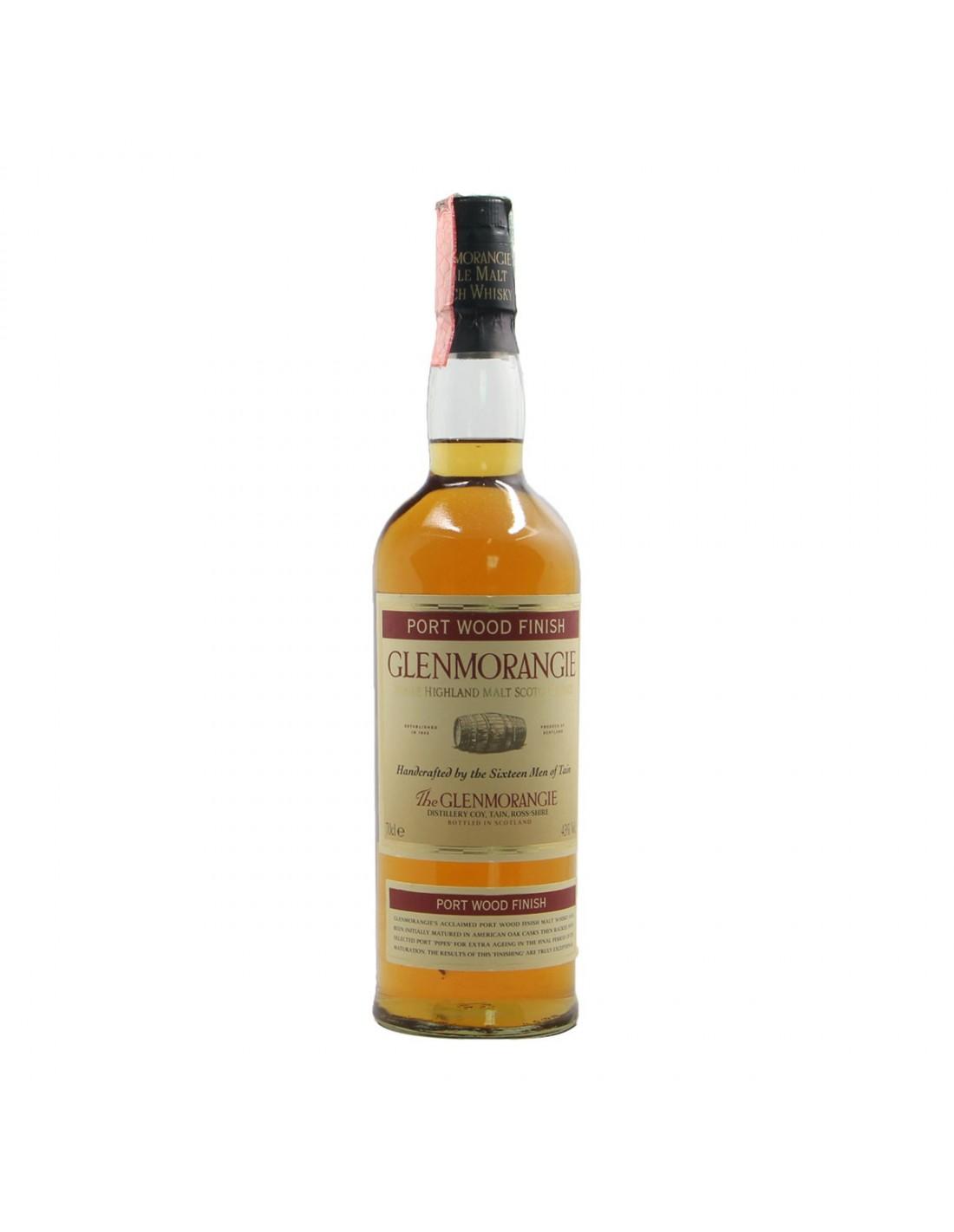 SCOTCH WHISKY HIGHLAND SINGLE MALT PORT WOOD FINISH NV GLENMORANGIE Grandi Bottiglie