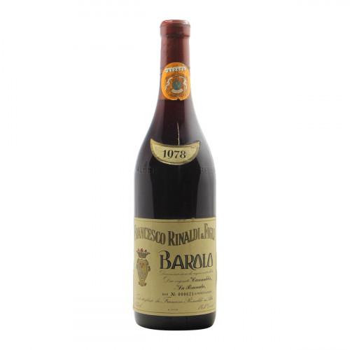 BAROLO 1978 RINALDI FRANCESCO