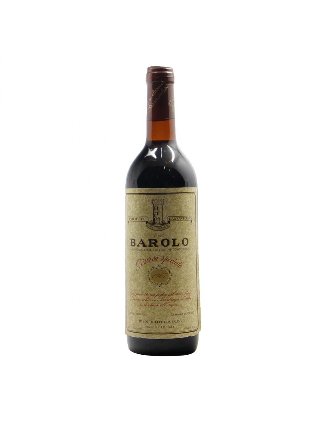 BAROLO RISERVA SPECIALE 1967 CANTINE LANZAVECCHIA Grandi Bottiglie