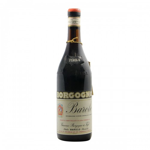 Barolo 1984 BORGOGNO GIACOMO
