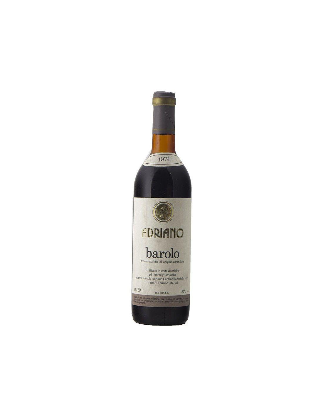 BAROLO 1974 ADRIANO Grandi Bottiglie