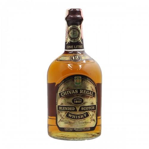Chivas regal scotch whisky 12 YO 1L...