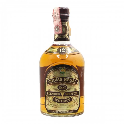 Chivas regal blended scotch whisky 12...