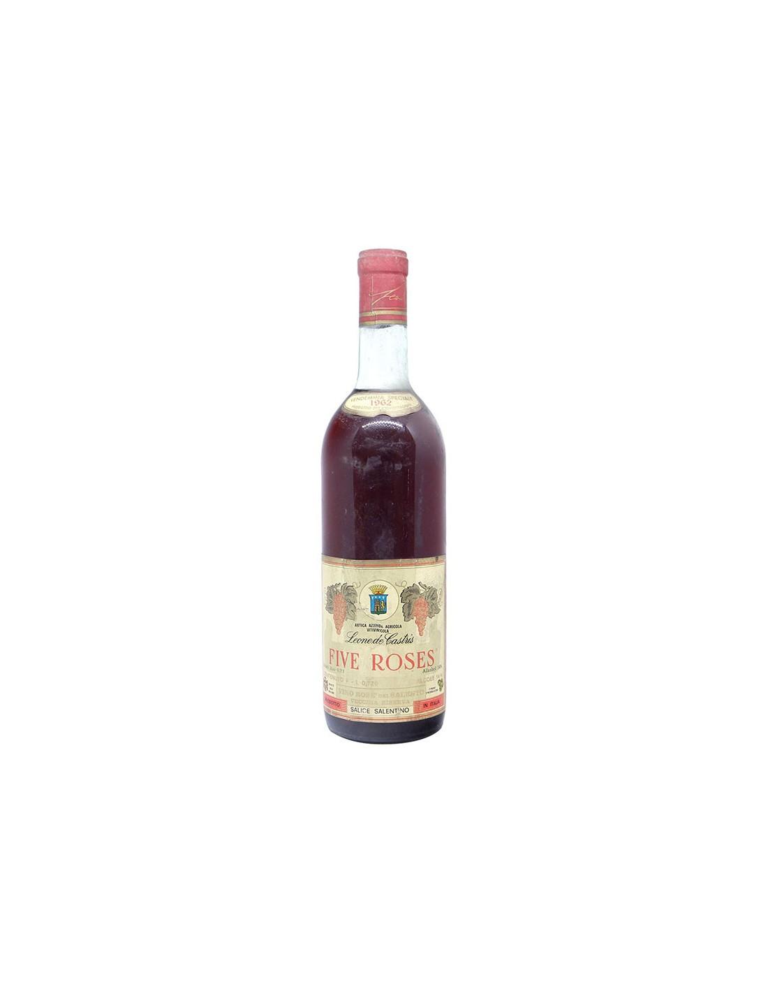 FIVE ROSES VENDEMMIA SPECIALE 1962 LEONE DE CASTRIS Grandi Bottiglie