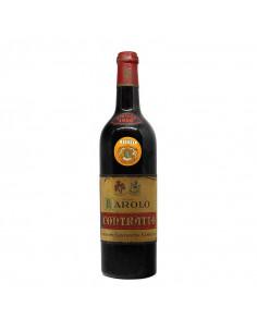 BAROLO 1958 CONTRATTO GIUSEPPE Grandi Bottiglie