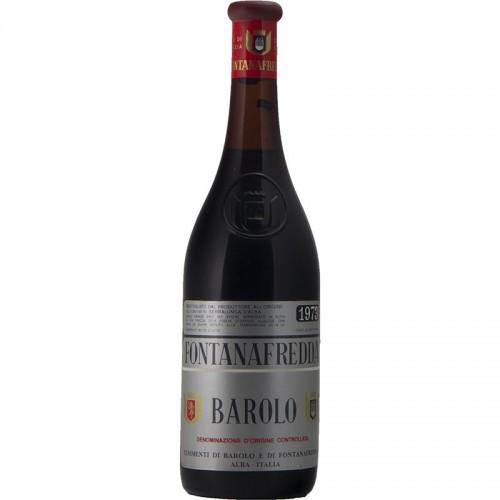 BAROLO 1973 FONTANAFREDDA Grandi Bottiglie