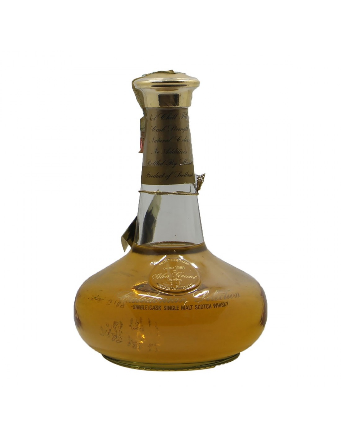 DECANTER CALEDONIAN SELECTION SINGLE CASK SINGLE MALT 1988 GLEN GRANT Grandi Bottiglie