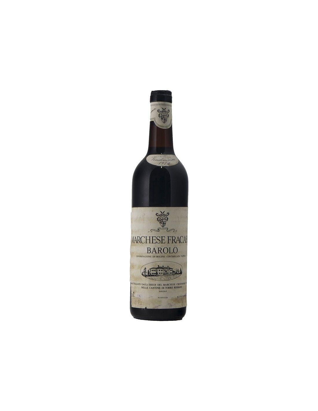 BAROLO 1974 FRACASSI Grandi Bottiglie