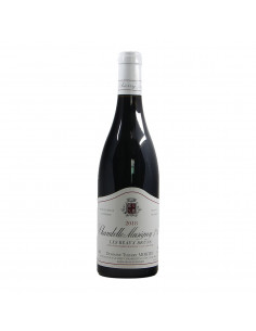 CHAMBOLLE MUSIGNY 1ER CRU AUX BEAUX BRUNS 2018 DOMAINE THIERRY