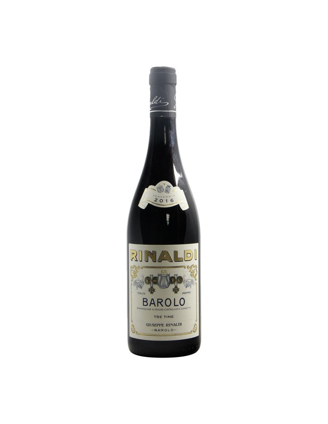 Giuseppe Rinaldi Barolo Tre Tine 2016 Grandi Bottiglie