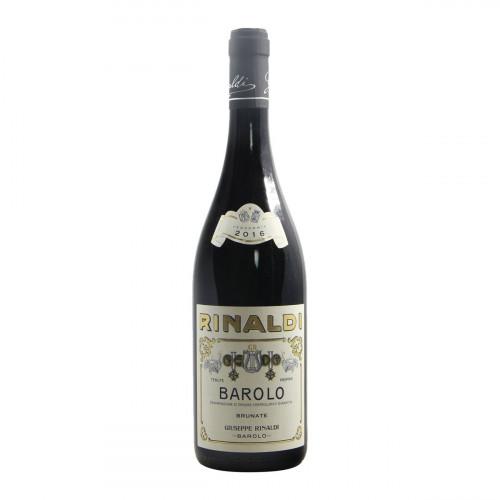 Giuseppe Rinaldi Barolo Brunate 2016 Grandi Bottiglie