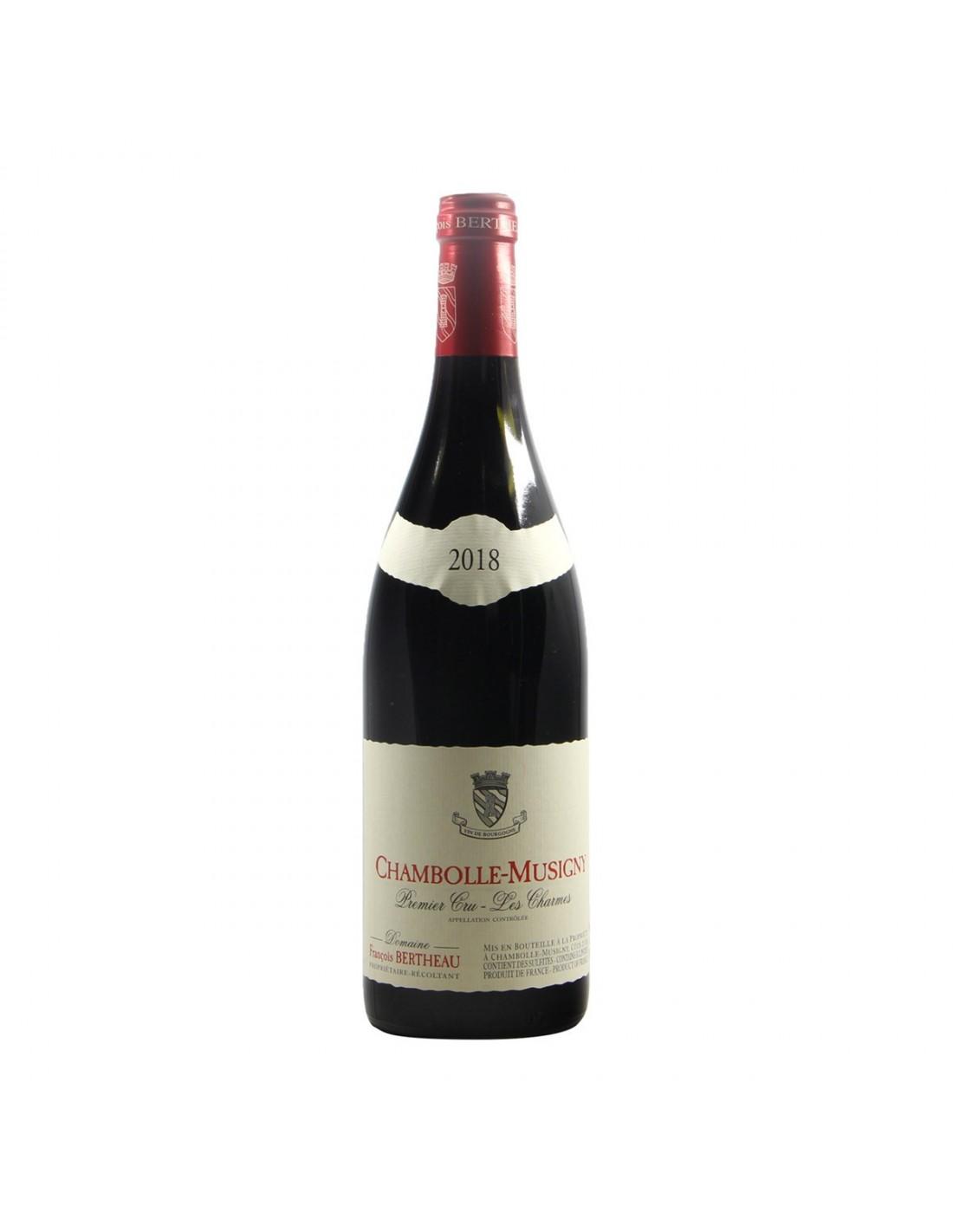 CHAMBOLLE MUSIGNY 1ER CRU LES CHARMES 2018 FRANCOIS BERTHEAU Grandi Bottiglie