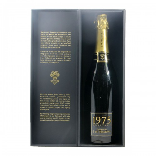 CHAMPAGNE BRUT HERITAGE COLLECTION 1975