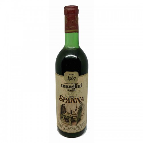 SPANNA RISERVA 1967 TRAVAGLINI Grandi Bottiglie