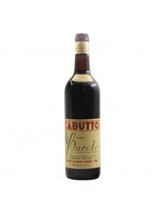 BAROLO 1967 CABUTTO Grandi Bottiglie