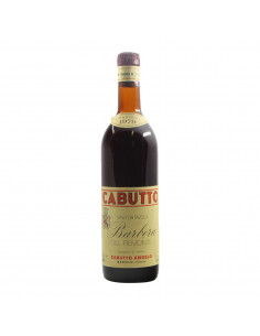 BARBERA DEL PIEMONTE 1979 CABUTTO Grandi Bottiglie