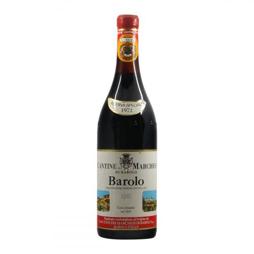 Marchesi di Barolo Barolo Riserva Speciale 1971 Grandi Bottiglie