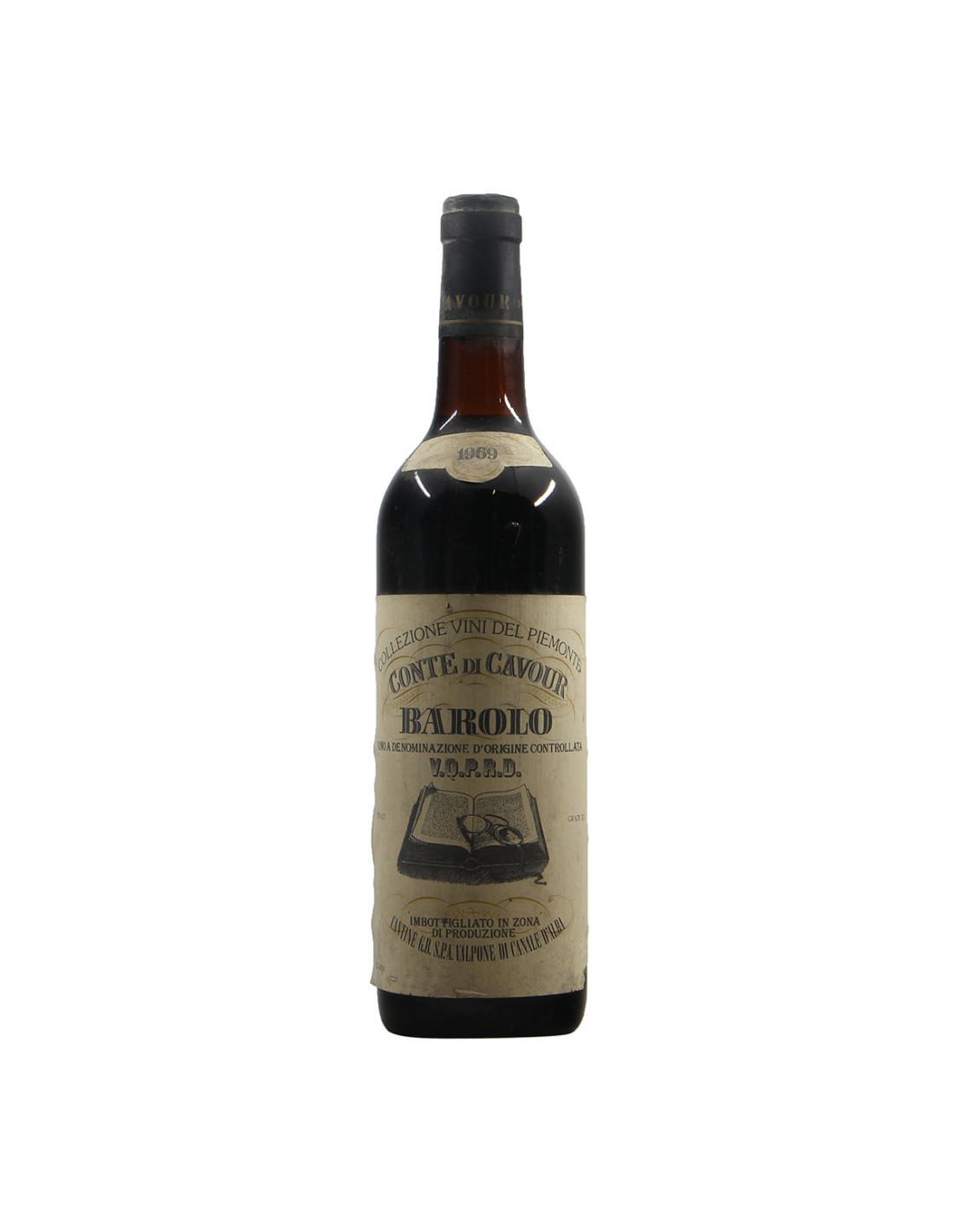 Conte di Cavour Barolo 1969 Grandi Bottiglie