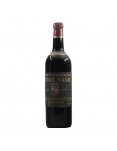 Biondi-Santi Brunello Di Montalcino 1964 Grandi bottiglie