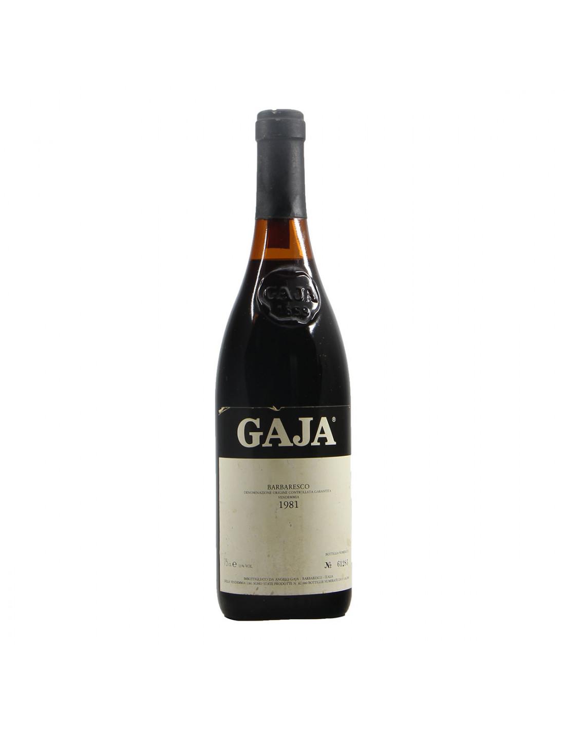Gaja Barbaresco 1981 Grandi Bottiglie
