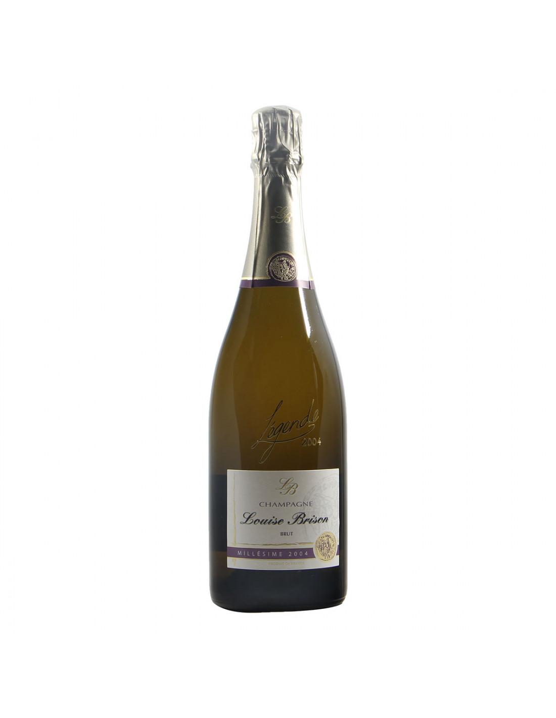 Louise Brison Champagne Zero Dosage Legende Millesime 2004 Grandi Bottiglie