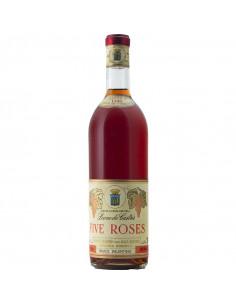 FIVE ROSES 1946 LEONE DE CASTRIS Grandi Bottiglie