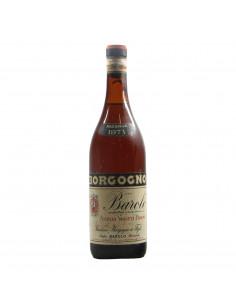 Borgogno Barolo Riserva Clear Colour 1971 Grandi Bottiglie