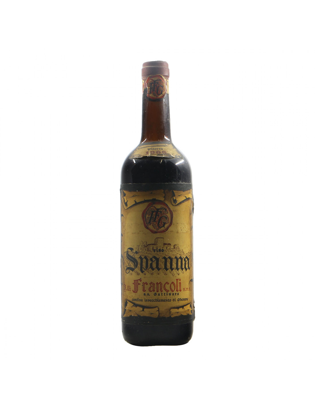 Francoli Spanna 1966 Grandi Bottiglie