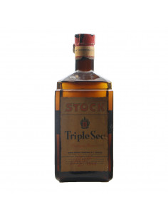 Stock Curacao Bianco Triple Sec Old NV Grandi Bottiglie