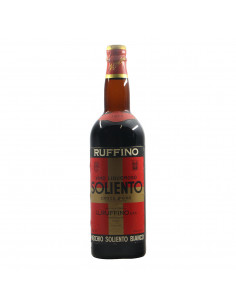 Ruffino Vino Liquoroso Soliento Bianco 1973 Grandi Bottiglie