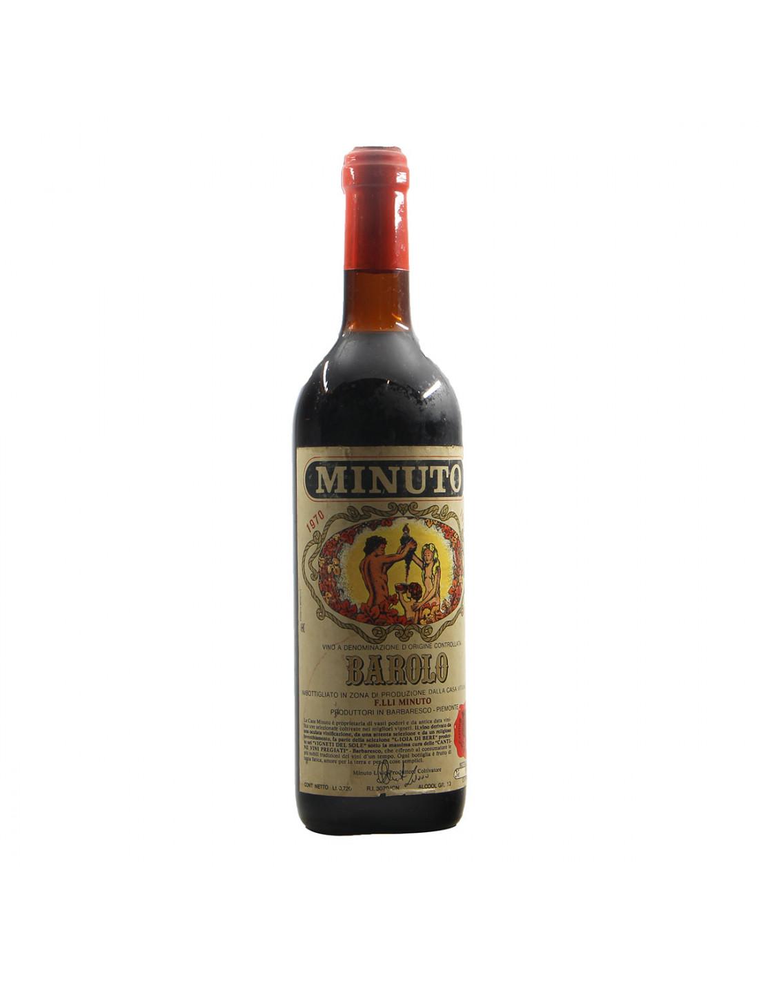Minuto Barolo 1970 Grandi Bottiglie