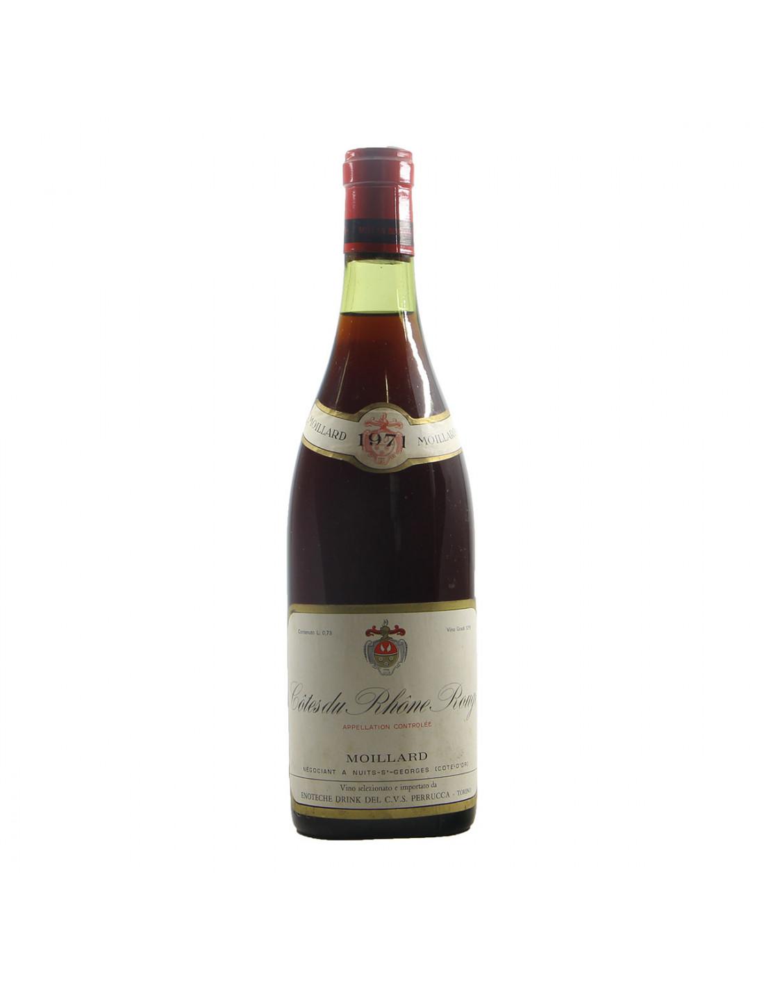 Moillard Cotes du Rhone 1971 Grandi Bottiglie