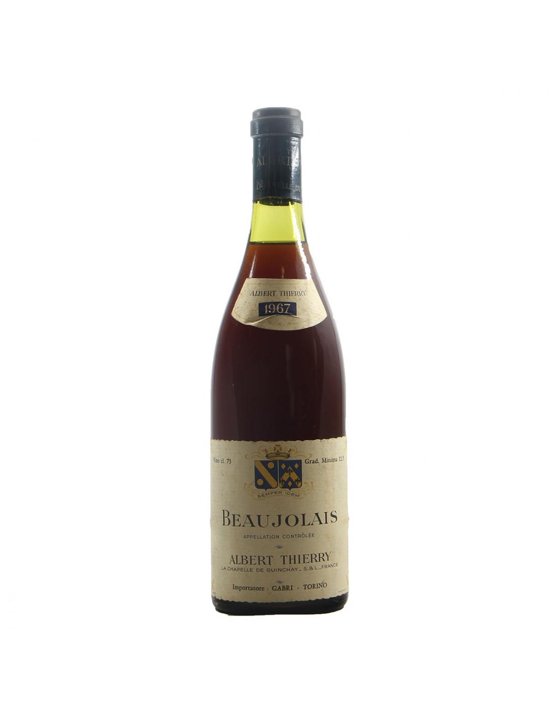 Albert Thierry Beaujolais 1967 Grandi Bottiglie