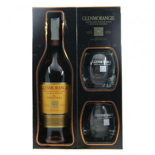 Glenmorangie Highland Single Malt Scotch Whisky 10 YO Grandi Bottiglie.
