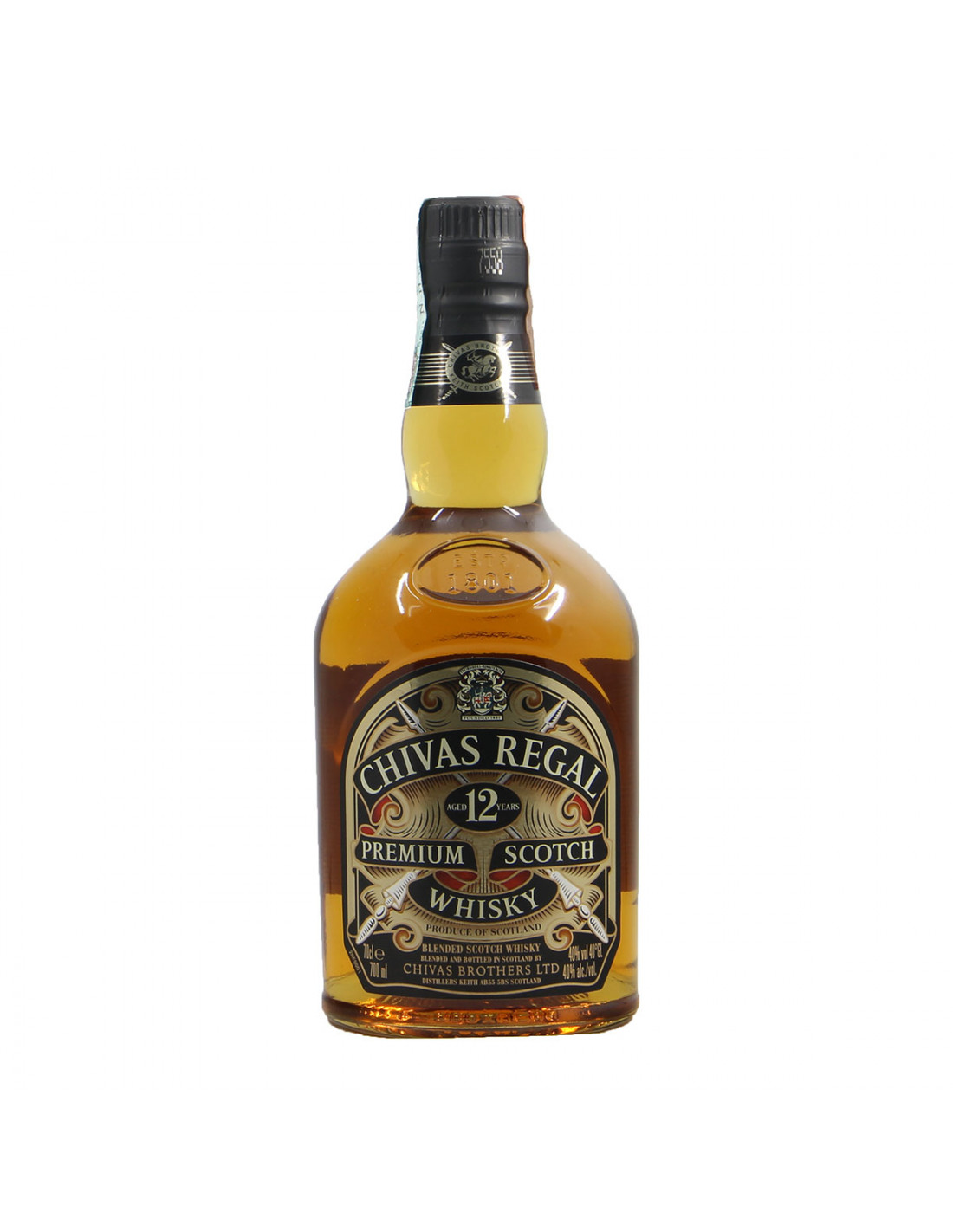 Chivas Regal Aged 12 years Premium Scotch Whisky Grandi Bottiglie